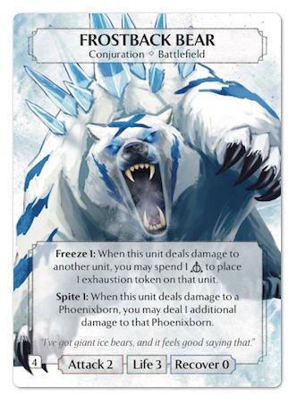 Frostback Bear