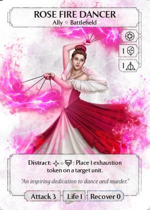 Rose Fire Dancer