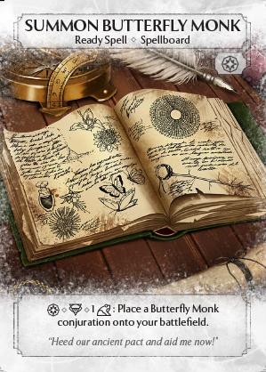 Summon Butterfly Monk