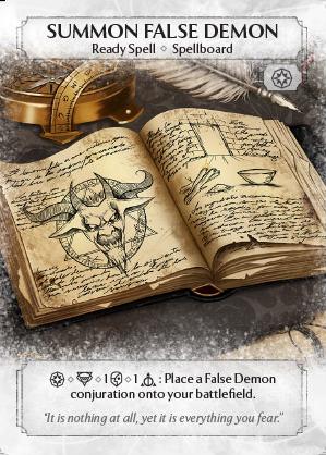 Summon False Demon