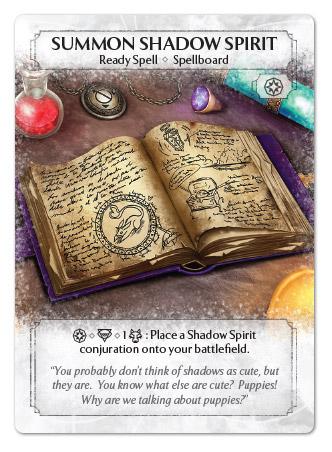 Summon Shadow Spirit