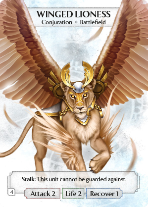Winged Lioness